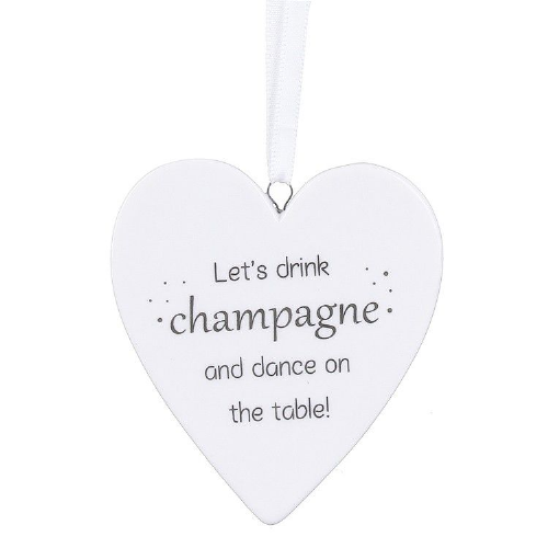 Transomnia - Champagne ceramic sign
